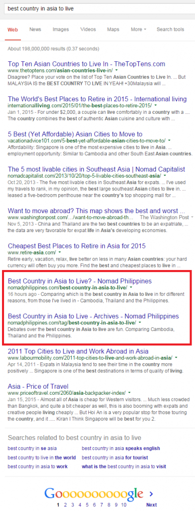 ranked-first-page-of-google
